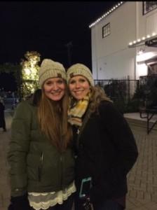 Johnisha and I last month at Christmas at the Silos in Waco, Texas.